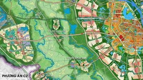 Quy hoạch HN: Thành phố mới hình thành bên thành phố cũ?